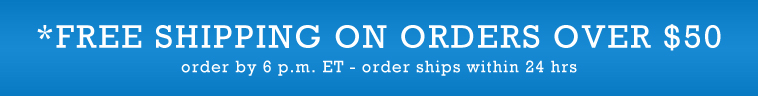 Free Shipping On Orders Over %50